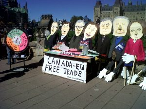 Ceta-protest Ottawa/Canada, photo: puppetsetcetera.wordpress.com