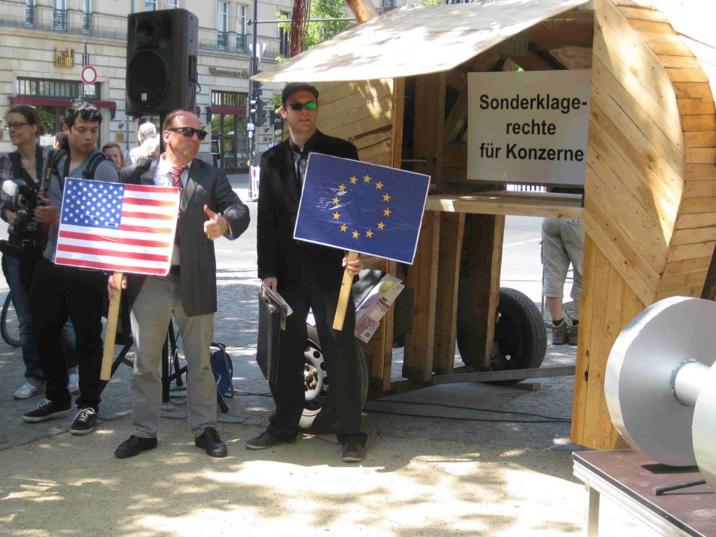 2nd round of TTIP-negotiations in Brussels: Joint letter of US and EU organizations