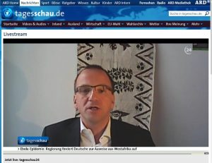 Tagesschau-Interview Peter Fuchs/PowerShift zu CETA, 13.8.2014