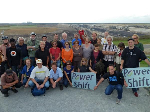 TeilnehmerInnen der letzten Lausitz-Radtour im August 2014