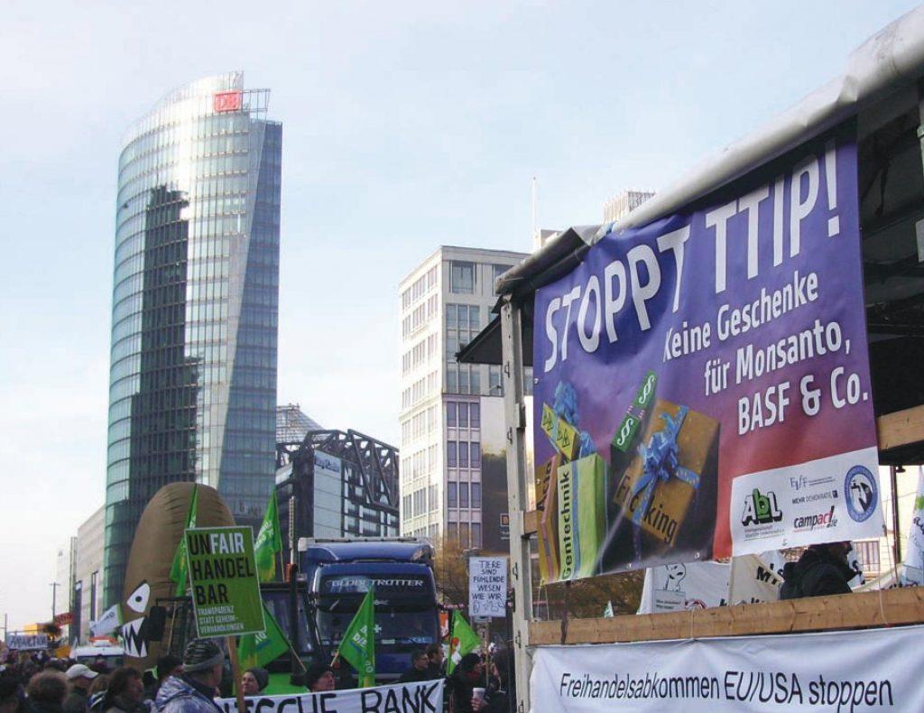 TTIP, CETA, TiSA – Die Kapitulation vor den Konzernen
