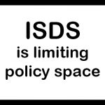 Warning sign: ISDS is limiting policy space