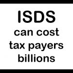 Warning sign: ISDS can cost tax payers billions
