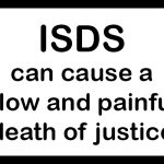 Warning sign: ISDS can cause a slow and painful death of justice