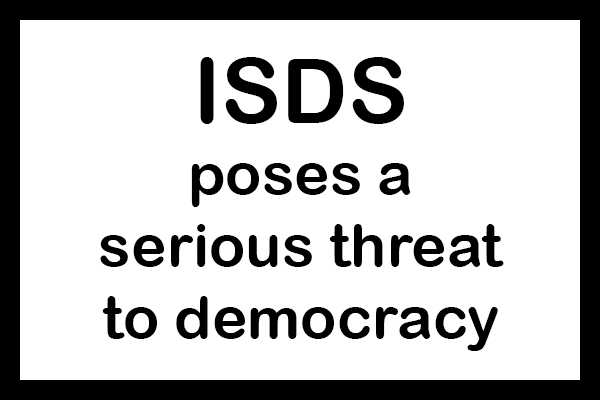 Warning sign: ISDS poses a serious threat to democracy