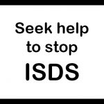 Warning sign: Seek help to stop ISDS