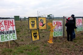 Anti-Fracking-Demo in Bötersen