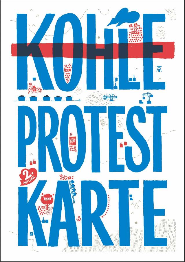 Kohle-Protest-Karte – 2. überarbeitete Auflage jetzt online und gedruckt!