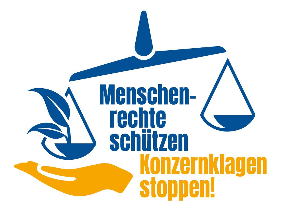 """Start der gemeinsamen Kampagne  """"Menschenrechte schützen – Konzernklagen stoppen!"""""""