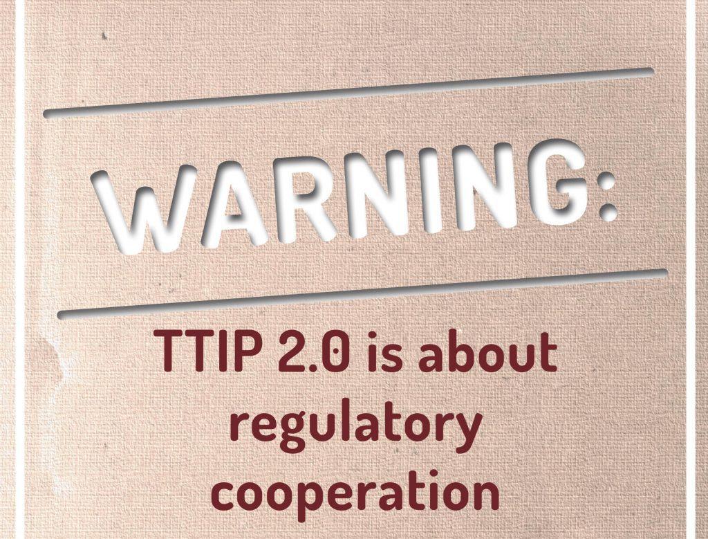 Keine neuen Verhandlungen mit alten TTIP-Themen!