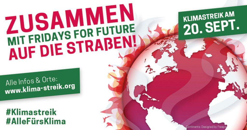 20. September: Internationaler Klimastreik & PARK(ing) Day