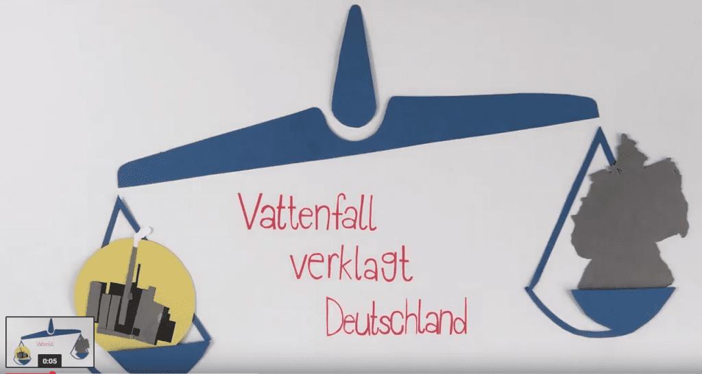 Konzernklage wegen Atomausstieg – Deutschland vs. Vattenfall