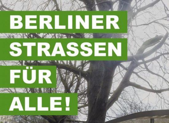Berliner Straßen für alle!