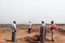 Bild: In Guinea wurden über 100 Familien von ihrem fruchtbaren Land vertrieben