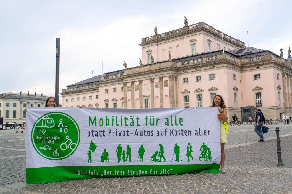 PM: Mobilitätsbündnis fordert klare Schritte für weniger Autoverkehr