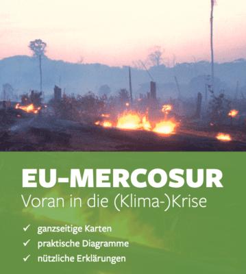Neue Veröffentlichung: EU-Mercosur-Abkommen – nicht nachhaltig, trotz Zusatzdokumenten
