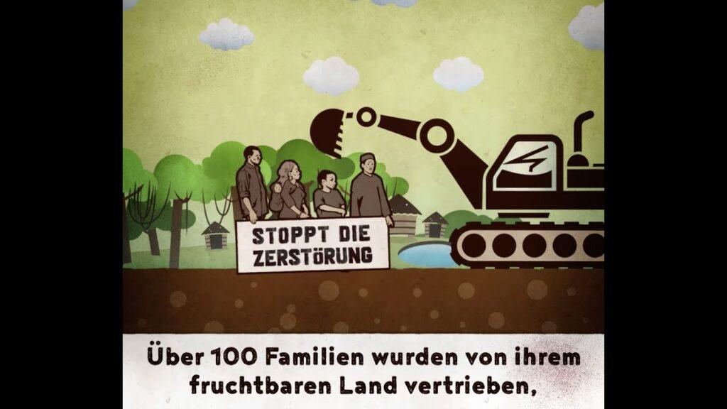 Vertreibung mit deutscher Unterstützung – #StopptUnFaireKredite
