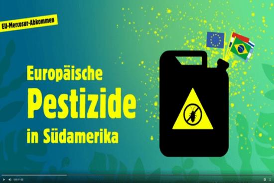 Hochgefährliche Pestizide für Südamerika – das EU-Mercosur-Abkommen