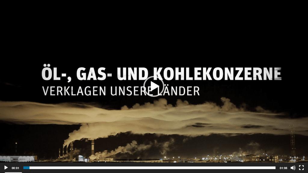 Öl-, Gas- und Kohlekonzerne verklagen unsere Länder